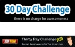 30 Day Challenge and 30 Day Challenge Plus Logos