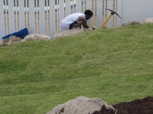 Digging holes the Herriman way